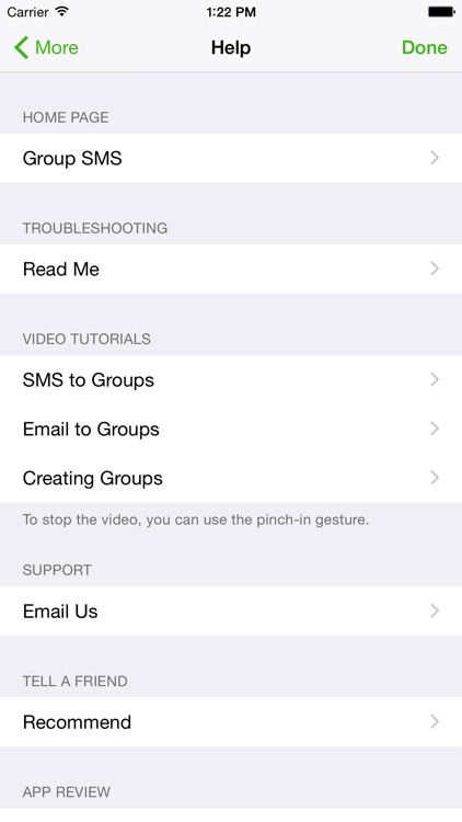 Group SMS screenshot-3