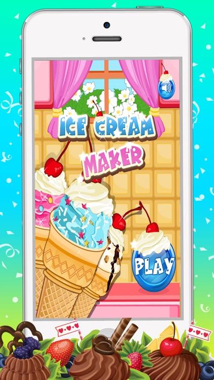 Ice Cream Cone Maker Game screenshot-4