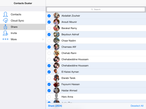 Screenshot of Cloude - The Most Reliable Contacts Cloud Backup, Sync and Restore