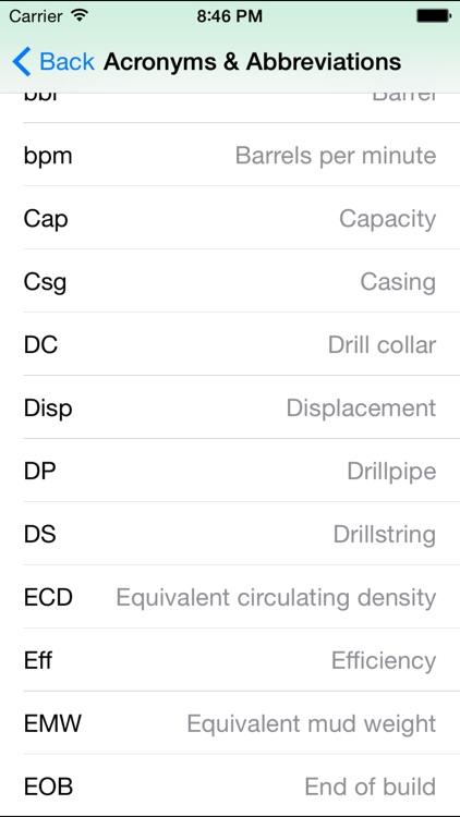 OilField Formulas for iHandy Calc. screenshot-4