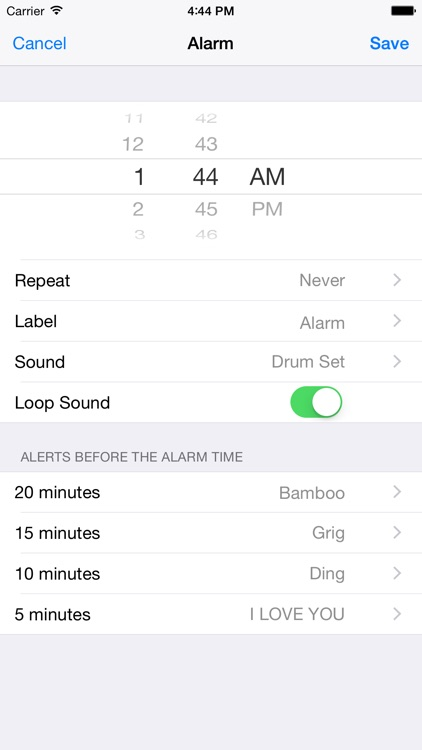 Healthy Alarm Clock screenshot-1