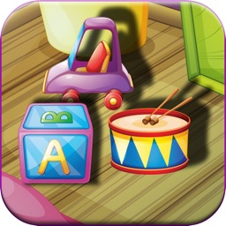 Kid`s Room Funny Toy Games and Photos