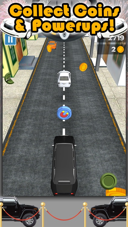 3D City Limo Racing Game with Driving and Racing Simulator Fun for Cool Boys FREE screenshot-3