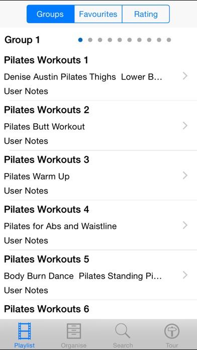 Pilates Workouts review screenshots