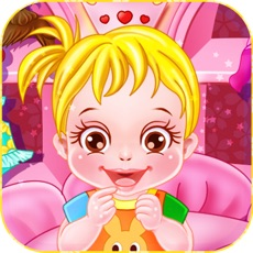 Activities of Baby Caring Games with Anna, Be the mommy and take care of baby Anna