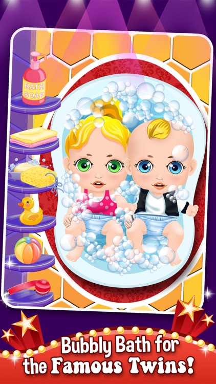 Mommy's Celebrity New Born Twins Doctor - newborn babies salon games!