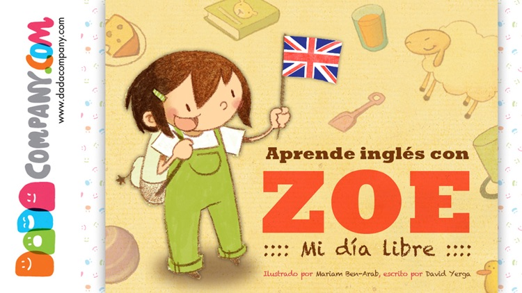 Aprende inglés con Zoe: Un cuento educativo para aprender idiomas screenshot-0