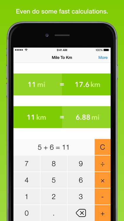 Mile To Km, the fastest distance converter screenshot-4