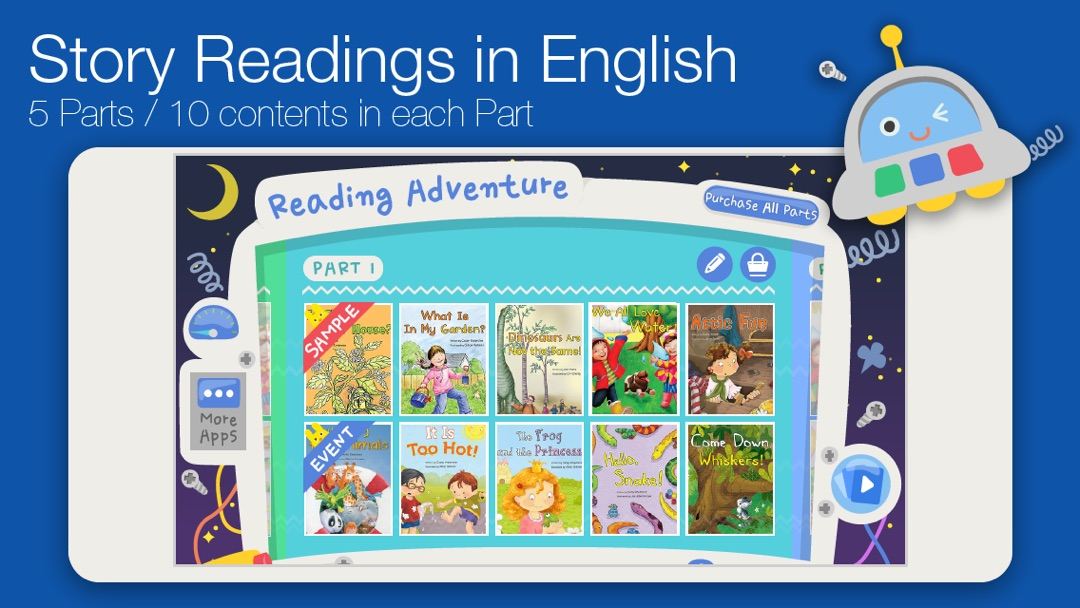 Reading Adventure Level 1 - Online Game Hack and Cheat