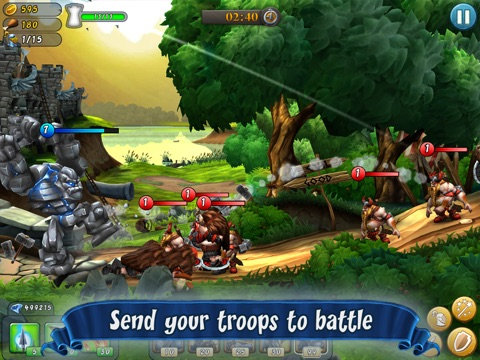 Screenshot #3 for CastleStorm - Free to Siege