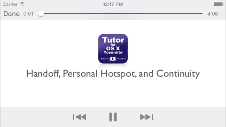 Tutor for OS X Yosemite screenshot-3