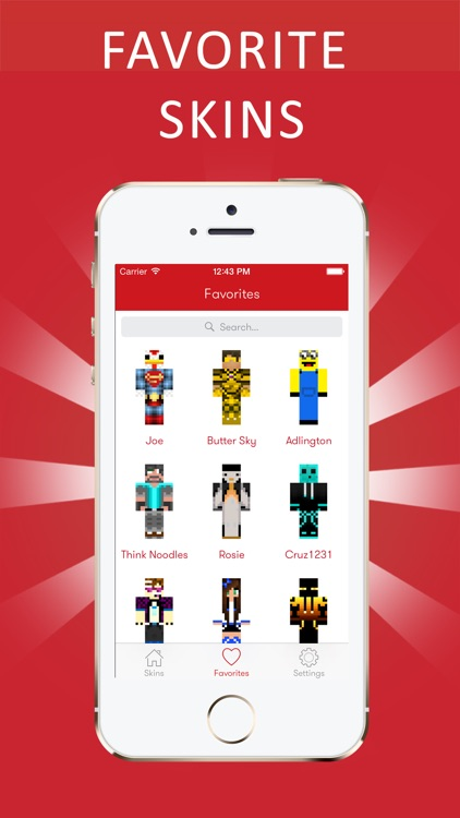 Best 3D Youtuber Skins for Minecraft PE screenshot-4