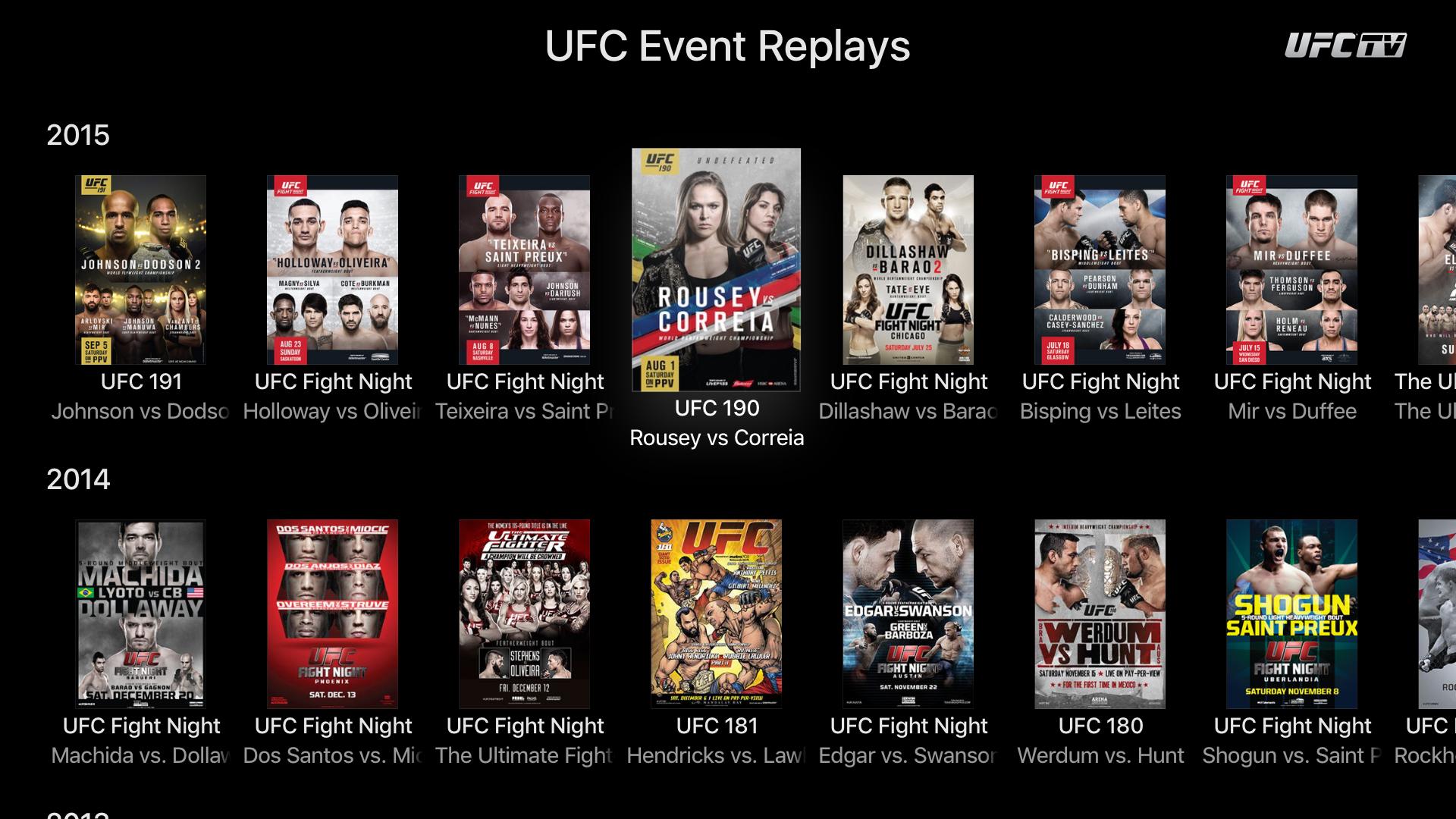 UFC ® screenshot 14