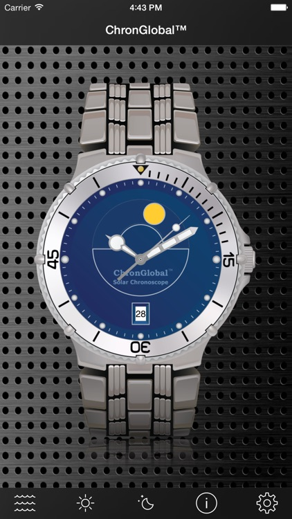 ChronGlobal Tidal Chronoscope