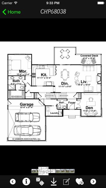 Craftsman House Plans Master screenshot-4