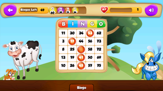 BINGO Casino Game to Play your Luck and Win the Jackpot with Animals screenshot one
