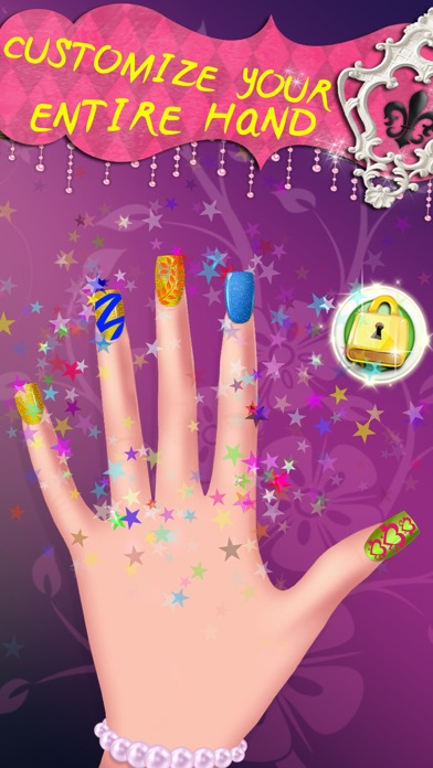 Cinderella's Woods Nail Salon - Beauty Make-Over Design & Fashion Manicure Dress-Up (Free Maker Games for Girls)のおすすめ画像4