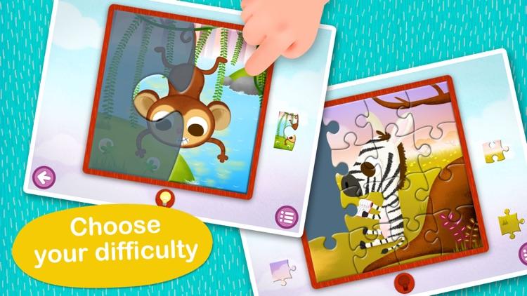 Wildlife Jigsaw Puzzles Lite