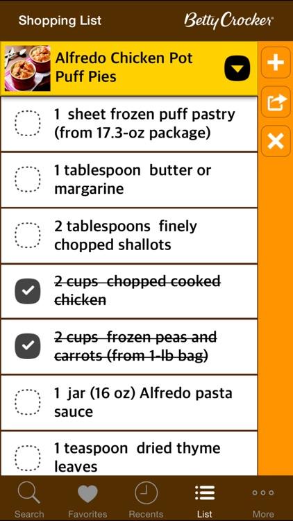 Weeknight Dinner Recipes: Betty Crocker The Big Book of Series screenshot-4