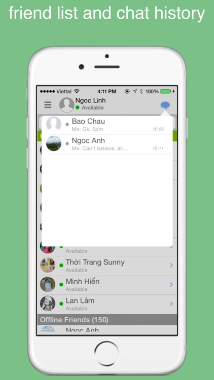 gt chat for Google Hangouts chat, call, gtalk screenshot-3