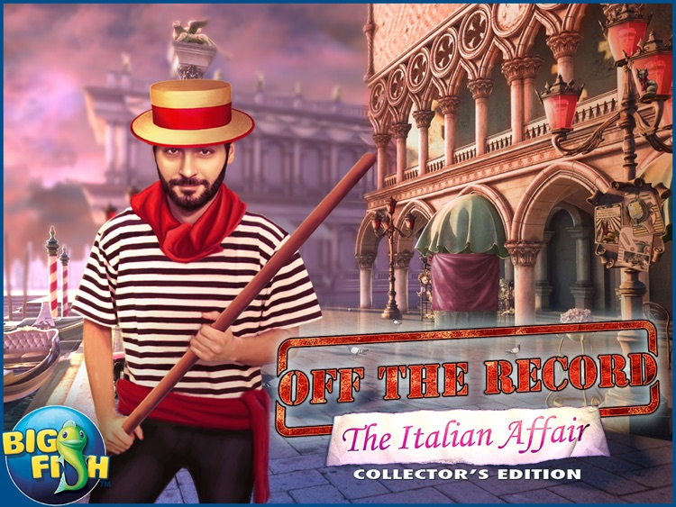 Off the Record: The Italian Affair HD - A Hidden Object Detective Game screenshot-4