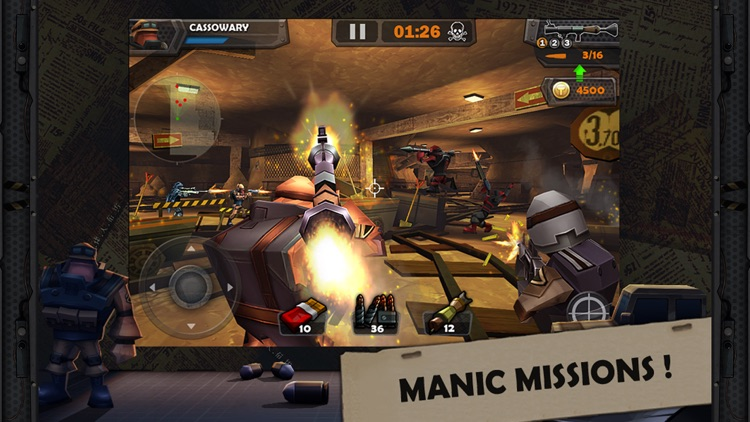 WarCom: Genesis screenshot-2