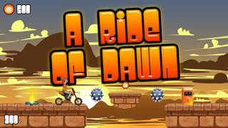 A Ride of Dawn – Motor-Bike Off Road High Speed Racing