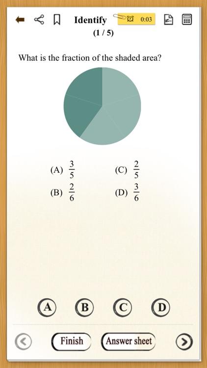 Fractions Quiz Pro