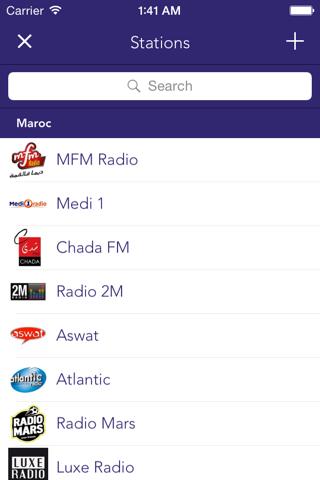 maRadio - náhled