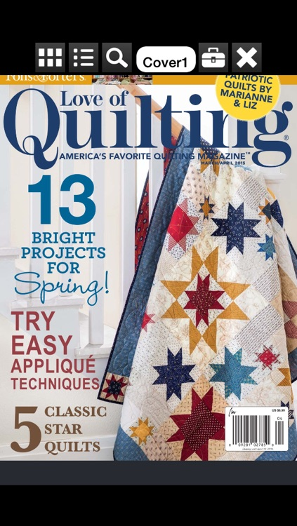 Fons & Porter's Love of Quilting Magazine