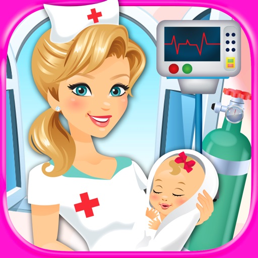 My Newborn Baby Maternity Nurse - Kids Pregnancy Games FREE
