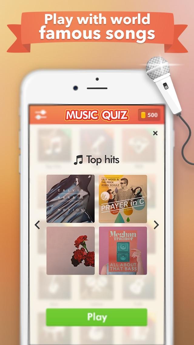 Music Quiz - name that tune ! Screenshot