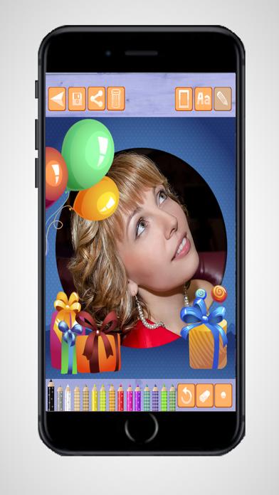 Marcos de fotos de feliz cumpleañosCaptura de pantalla de2