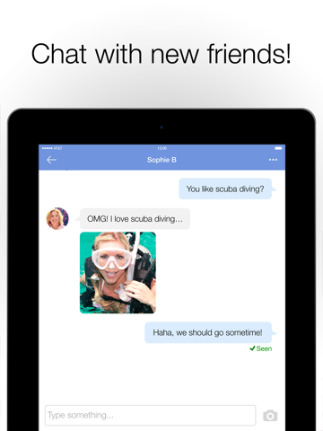 MeetMe: Chat & Meet New People for iPad by MeetMe, Inc  (iOS