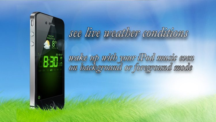 Alarm Clock Xtrm Wake Pro - Weather + Music Player screenshot-3