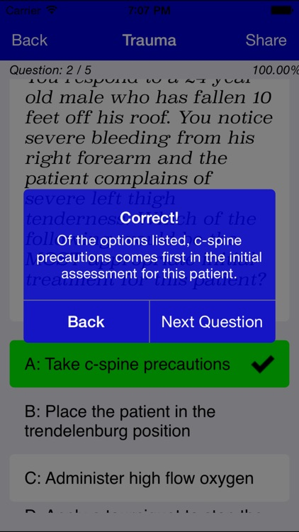 EMT Study Lite screenshot-1