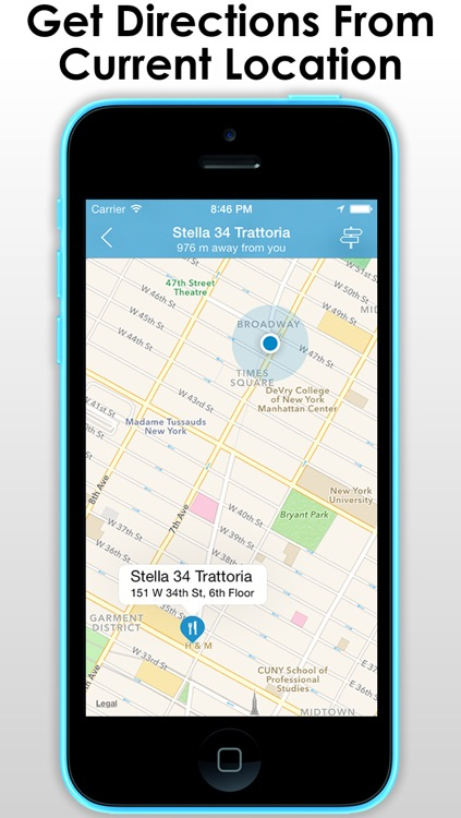 A Travel guide with smart navigation - Find & navigate to all the things around you and to nearby places like food , restaurants and hotels screenshot-3