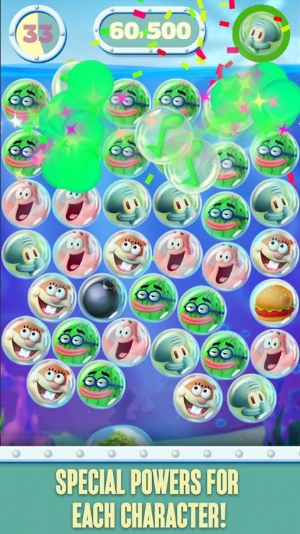 SpongeBob Bubble Party screenshot-3