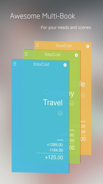 EasyCost - Expense Tracker and Money organizer Screenshot