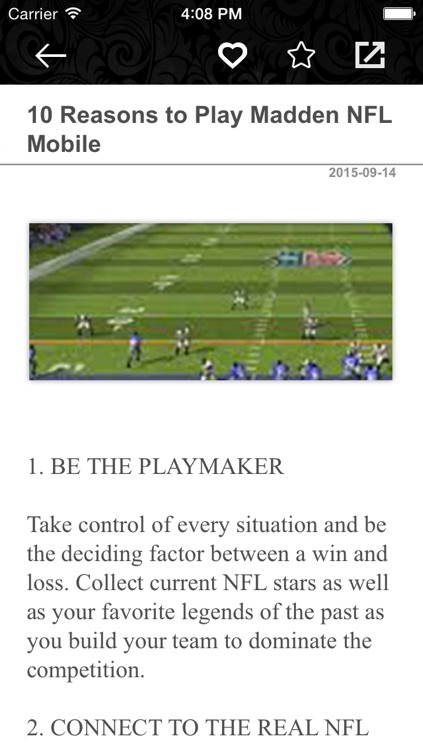 Guide for MADDEN NFL Mobile - Best Tips, Tricks & Strategy