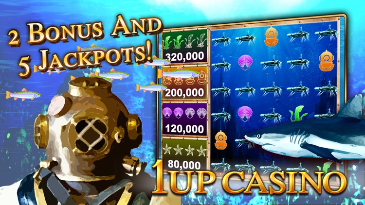 Slot Machines - 1Up Casino - Best New Free Slots screenshot-3
