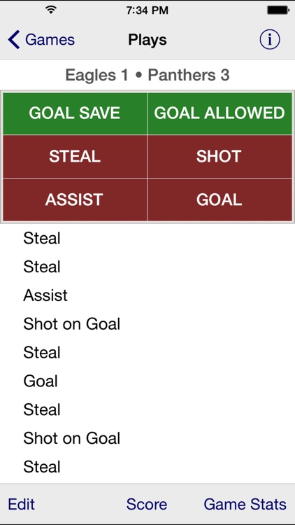 Stat Tap Soccer screenshot-1