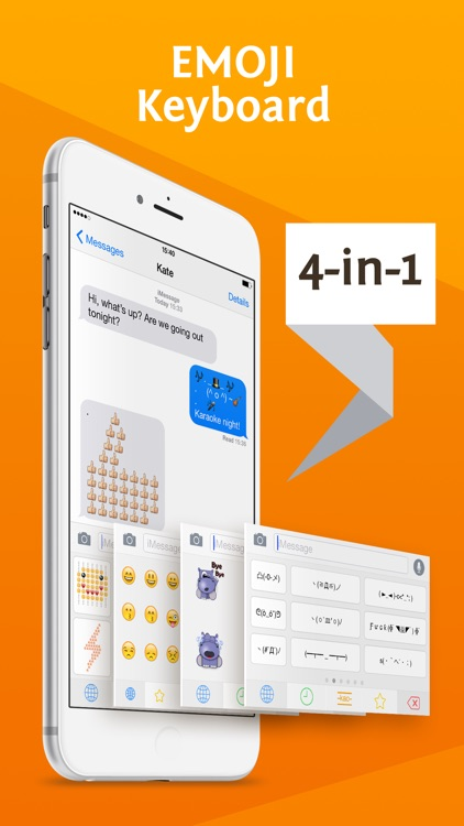 Richmoji - emoji keyboard for chating, texting,sms