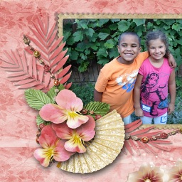 Flowers Photo Frames Deluxe