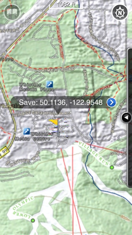 Whistler GPS - Blackcomb Ski and Snowboard Trail Maps