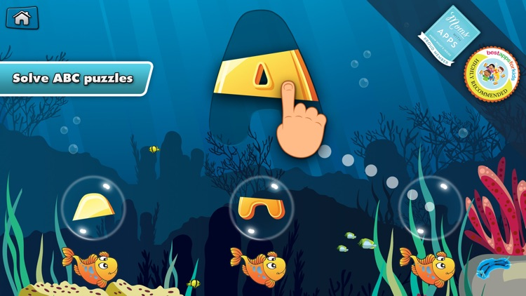 My Alphabet: Underwater ABC for Kids Free screenshot-0