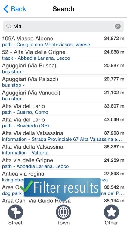 Lake Maggiore & Lake Como Travelmapp screenshot-3