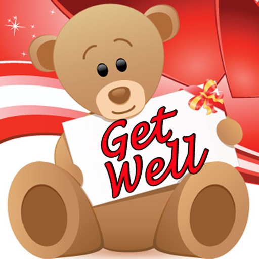 Get Well Cards with photo editor. Send get well soon greetings card and custom get well ecards with text and voice messages ! icon
