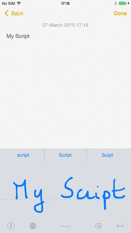 MyScript Stylus - Handwriting Keyboard