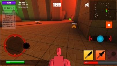 Pixel Tank 3D - Multiplayer Shooter screenshot four